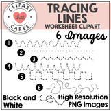 Tracing Lines Clipart by Clipart That Cares