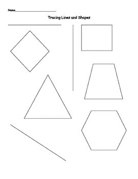 Tracing Lines, Curves & Shapes Mini Pack