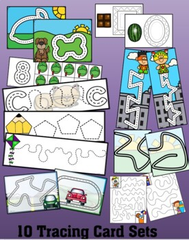 fine motor skills tracing lines fun by dp sharpe tpt. Black Bedroom Furniture Sets. Home Design Ideas