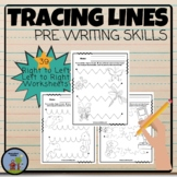 Tracing Lines Pre - Writing  Fine Motor Activities  Left to Right
