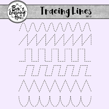 Tracing Lines Set 2