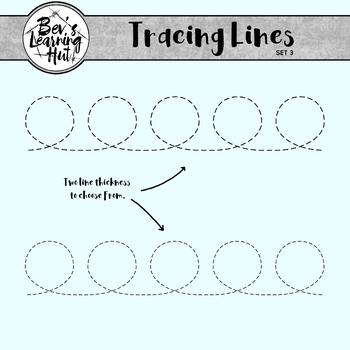 Tracing Lines Set 3