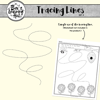 Tracing Lines Set 4