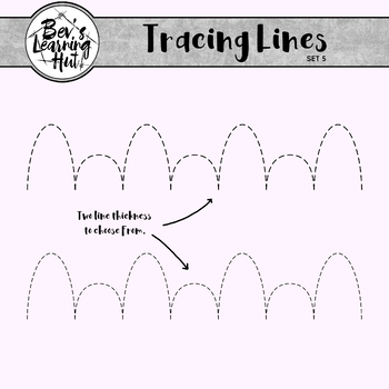 Tracing Lines Set 5