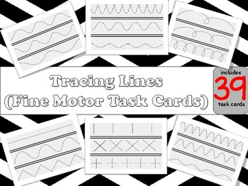 Tracing Lines (Fine Motor Task Cards)