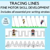 Tracing Lines for Fine Motor Skill Development