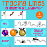Tracing Lines for Fine Motor Skill Development