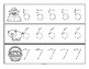 Tracing Numbers 0-20 for Beginning Writers - At the Farm Theme