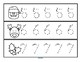 Tracing Numbers 0-20 for Beginning Writers - Christmas Theme