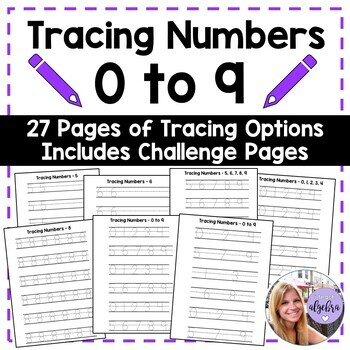Tracing Numbers - 0 through 9