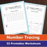 Tracing Numbers 1-10   Writing Numbers 1-10   Handwriting Practice