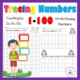 Tracing Numbers 1-100