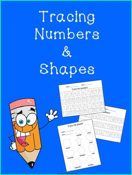 Tracing Numbers and Shapes