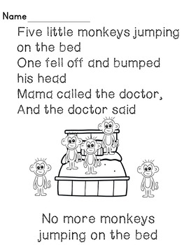 Tracing Nursery Rhymes