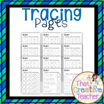 Tracing Pages