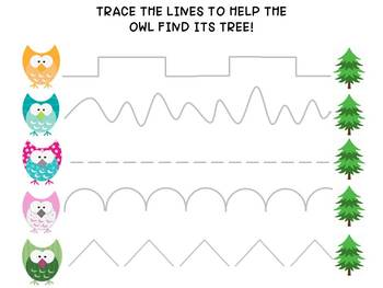 Tracing Pages Bundles, Preschool Writing, Kindergarten Writing, Fine Motor