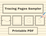 Tracing Pages Sampler - Occupational Therapy, ABA Therapy,