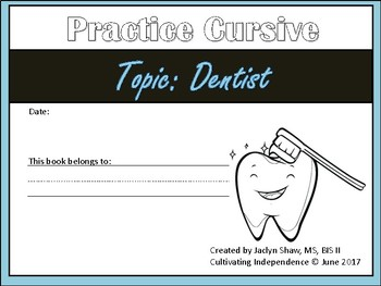 Tracing Paper Dentist