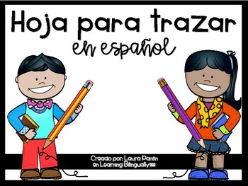 Tracing Papers Pack in Spanish