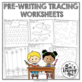 Pre-Writing Tracing Worksheets