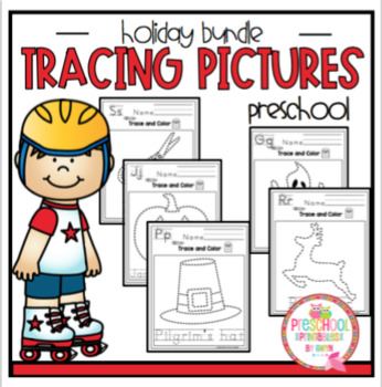 Tracing Pictures - Holiday Bundle