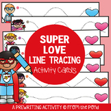 Valentine's Day Prewriting Activity Center {Tracing Practice}