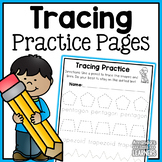 Tracing Worksheets - Handwriting and Fine Motor