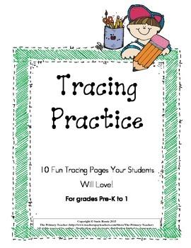 Tracing Practice Fun!