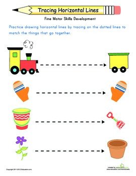 Tracing Practice for Preschoolers Workbook