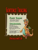 Tracing Sentences First Grade
