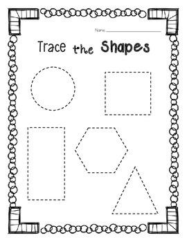 Tracing Shapes