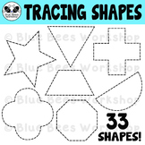 Tracing Shapes Clip Art