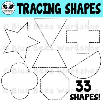 Tracing Shapes Clip Art