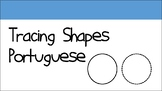 Tracing Shapes Portuguese