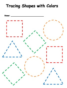 Tracing Shapes with Colors