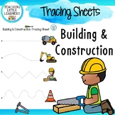 Tracing Sheets - Building & Construction Theme