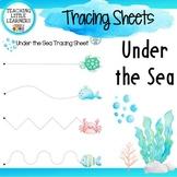 Tracing Sheets - Under the Sea Theme