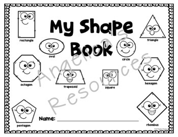 Shapes Tracing: Sight Words, Simple Sentence Tracing, and Shapes - Print & Go!