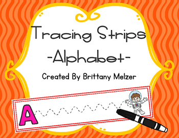 Tracing Strips-Alphabet