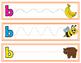 Tracing Strips-Alphabet