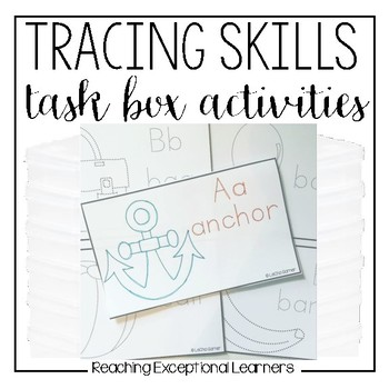 Tracing Task Box Activities for Special Education