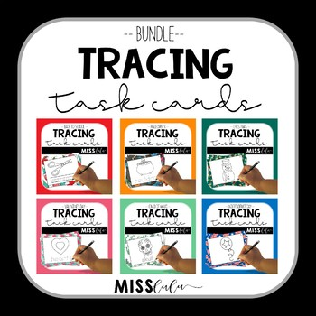 Tracing Task Cards {Growing} Bundle