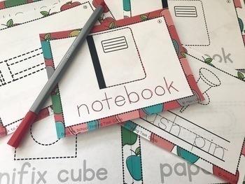 Tracing Task Cards Holiday Bundle