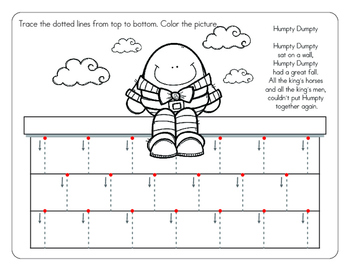 Tracing Vertical Lines  Workbook