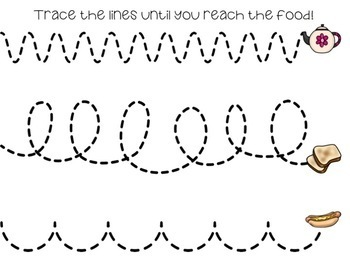 Tracing Lines -- Food