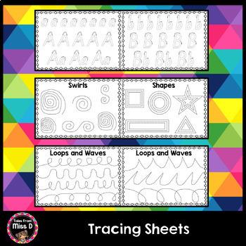 Tracing Worksheets