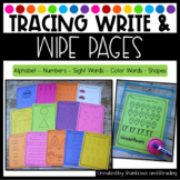 Tracing Write and Wipe Pages