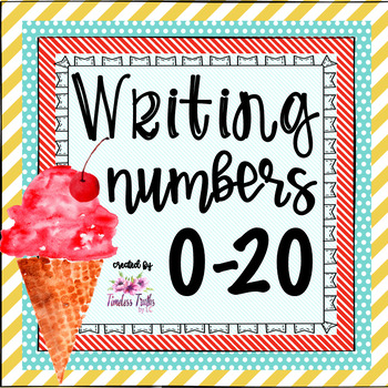 Tracing & Writing Numbers 0-20