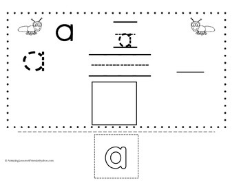 Tracing Writng Cut and Paste Sheets Set Two