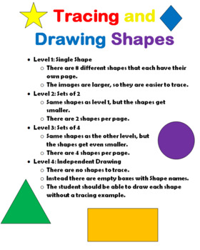 Tracing and Drawing Shapes